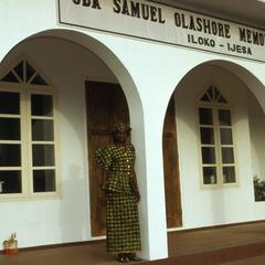 Nike (Komolafe) Afolabi at Olashore Chapel