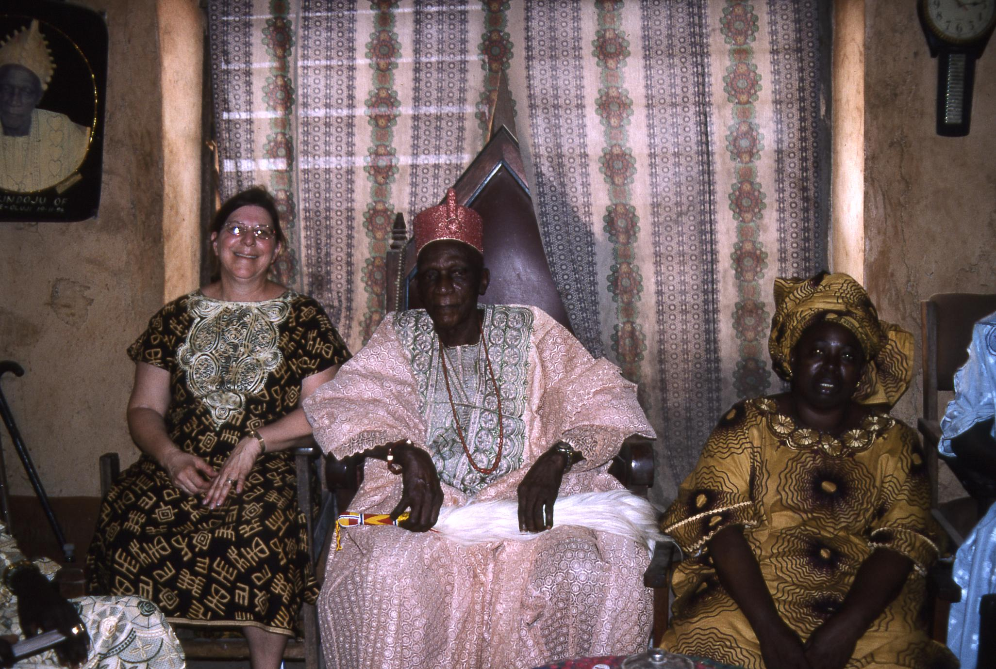 Trager with Oba and Olori