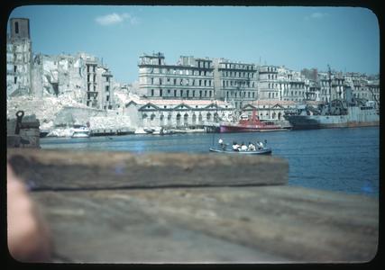 Bombed Marseilles