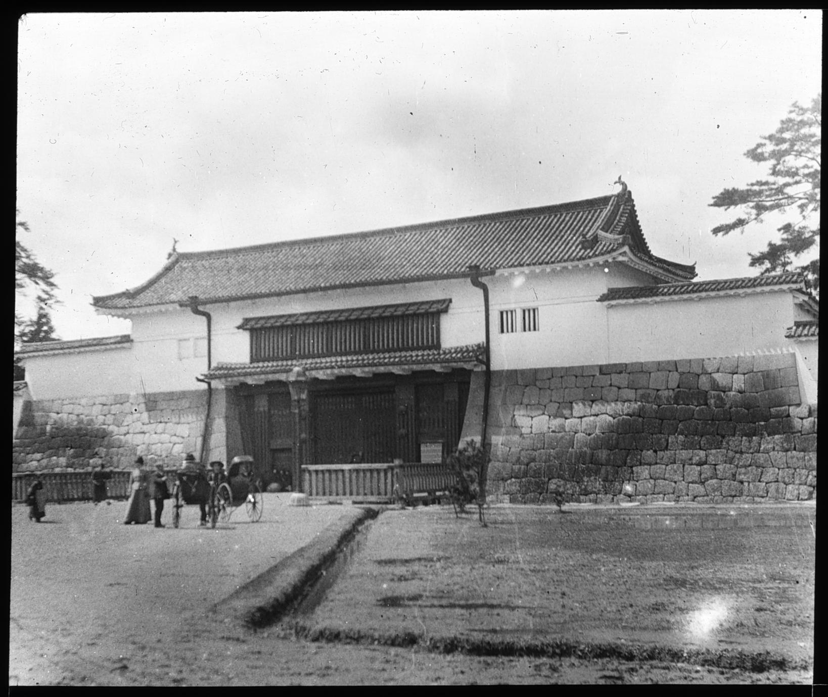 Gate of Shogun Palace . . .
