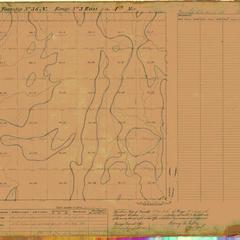 [Public Land Survey System map: Wisconsin Township 36 North, Range 03 East]