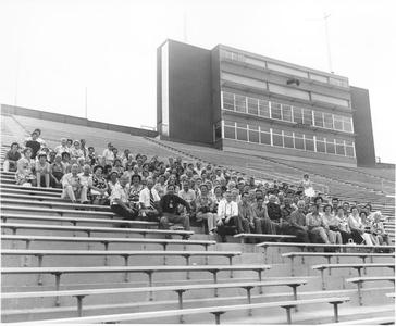Visitors to Green Bay from Belgium in 1975