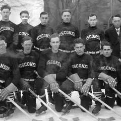 UW men's hockey team
