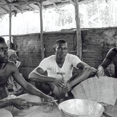 Bucketmakers Displaying Materials and Tools