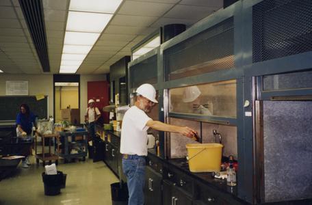 Williams Hall Renovations, Demolition, Janesville, 1998/1999