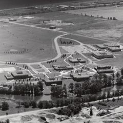 Barron County Campus aerial photo