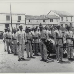 Fire brigade, Intramuros, Manila, 1900-1911