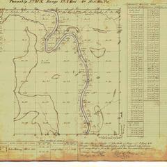 [Public Land Survey System map: Wisconsin Township 25 North, Range 07 East]