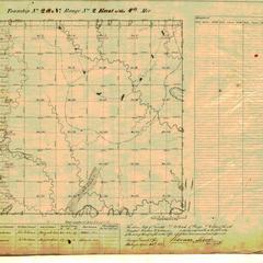 [Public Land Survey System map: Wisconsin Township 28 North, Range 02 East]