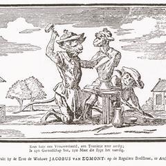 Monkeys as sculptors