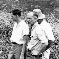 Aldo Leopold and J.T. Emlen at Coon Valley