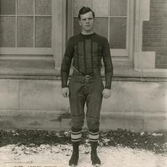 Football captain Adolph Jerdee