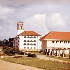 Main Building at Makerere University