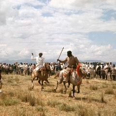 Horsemen Performing as in a Tournament