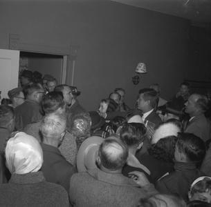 John F. Kennedy greets Mount Horeb citizens