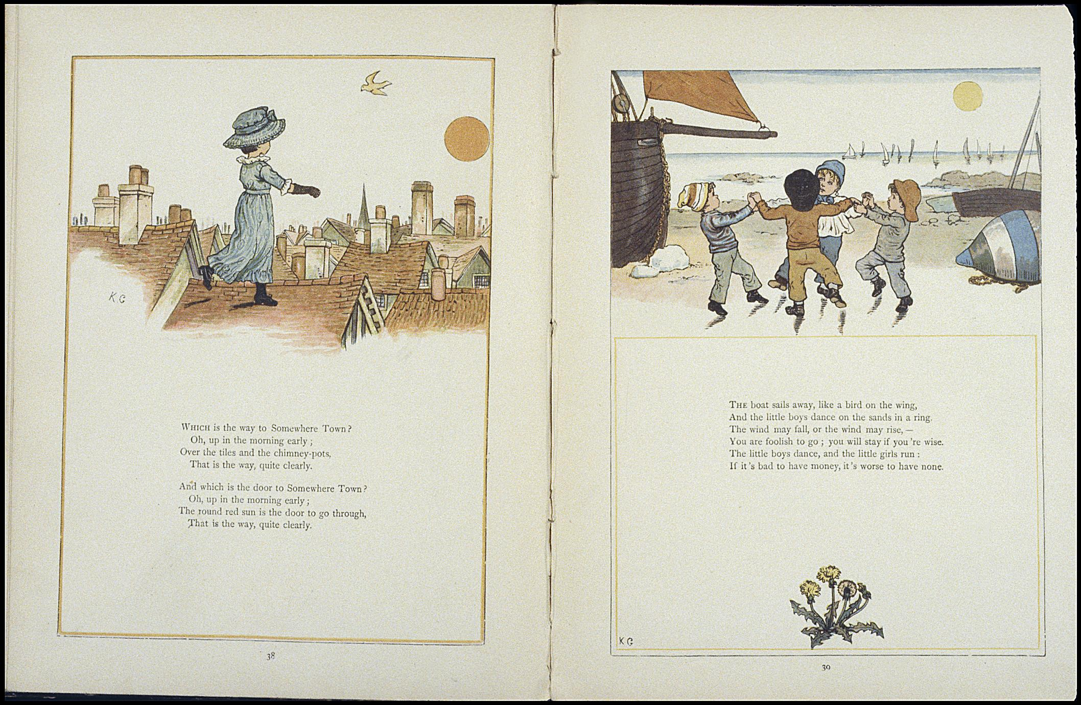 Under the window : pictures & rhymes for children (1 of 2)