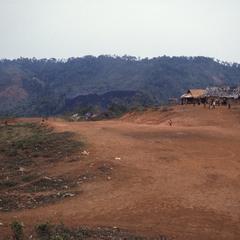 Aerial view of airstrip