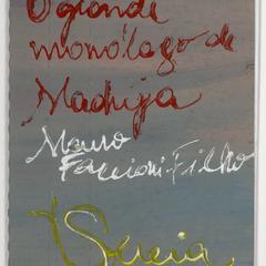 O grande monólogo de Madrija