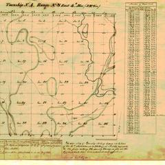 [Public Land Survey System map: Wisconsin Township 04 North, Range 08 East]