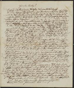 [Letter from Karl Sternberger to Jakob Sternberger, April 14, 1851]
