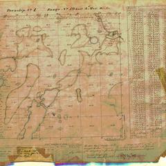 [Public Land Survey System map: Wisconsin Township 01 North, Range 19 East]