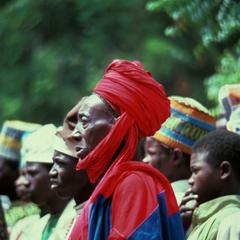 Hausa Courtier in Kawari, Niger