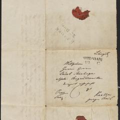 [Letter to Jakob Sternberger, December 18, 1848]