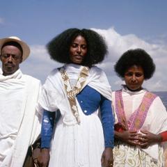 Oromo Farmers Posing