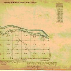 [Public Land Survey System map: Wisconsin Township 08 North, Range 03 East]