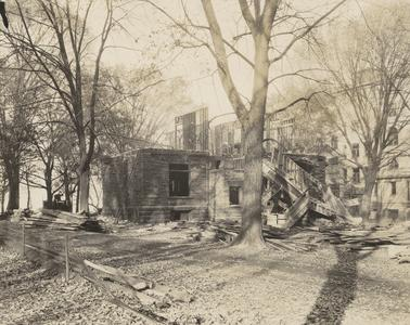 Ruins of Raymer House