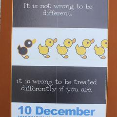 It is not wrong to be different