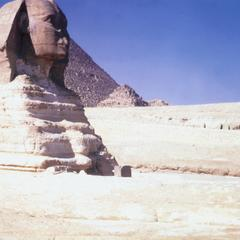 Side View of Sphinx