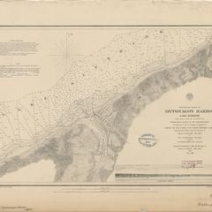 Preliminary chart of Ontonagon Harbor, Lake Superior