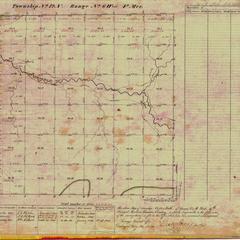 [Public Land Survey System map: Wisconsin Township 12 North, Range 06 West]