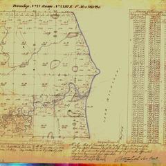 [Public Land Survey System map: Wisconsin Township 15 North, Range 23 East]