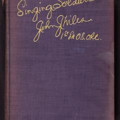 Singing soldiers