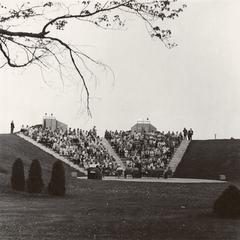 Barron County Campus amphitheater