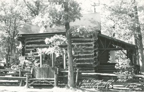 Colonel Hans Heg cabin. Wind Lake, Wisconsin
