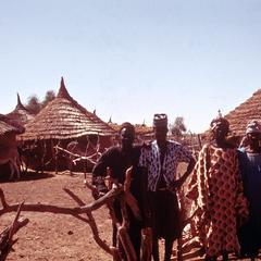 Small Settlement of Fulbe People in Semi-Desert of Ferlo