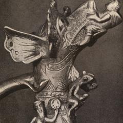 Aquamanile, Collection A. C. de Frey, New York. 1220 A. D.