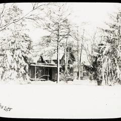 """Ivy Lodge,"" home of Josiah Bond, winter"