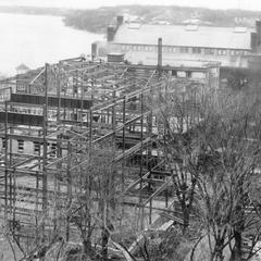 Construction of Memorial Union