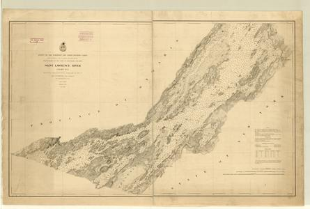 St. Lawrence River chart no. 5