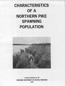 Characteristics of a northern pike spawning population
