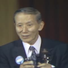 A lecture on tonalization and bowing techniques given by Shin'ichi Suzuki at the American Suzuki Institute, Stevens Point, WI., August 17, 1976