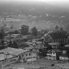 View Over Rooftops of Freetown