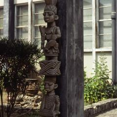 House post at the Institute of African Studies