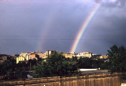 A rainbow over Kiev