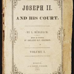 Joseph II and his court : an historical novel