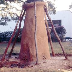 A Traditional Furnace for Smelting Iron at National Museum of Zambia